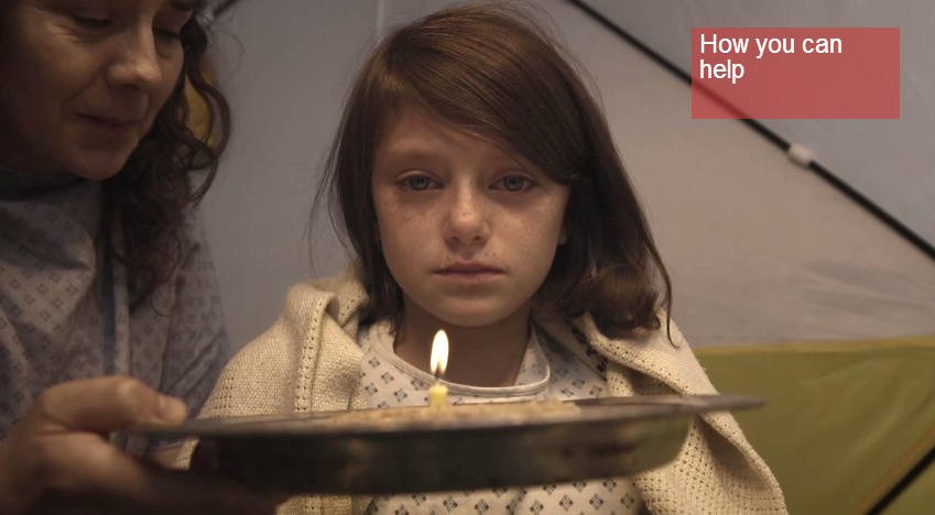 Chilling Video Reimagines Refugee Girl Fleeing England As